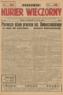 Krakowski Kurier Wieczorny. 1937, nr85