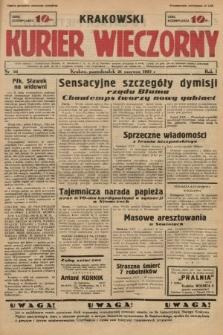 Krakowski Kurier Wieczorny. 1937, nr92