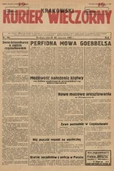 Krakowski Kurier Wieczorny. 1937, nr93