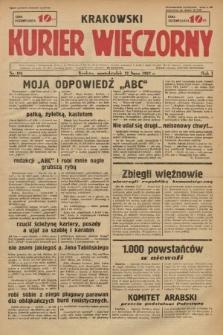 Krakowski Kurier Wieczorny. 1937, nr113