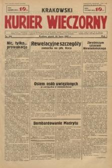 Krakowski Kurier Wieczorny. 1937, nr124