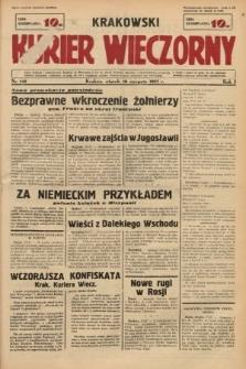 Krakowski Kurier Wieczorny. 1937, nr142
