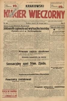 Krakowski Kurier Wieczorny. 1937, nr156