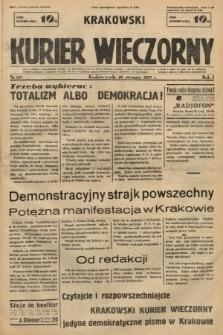 Krakowski Kurier Wieczorny. 1937, nr157