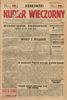 Krakowski Kurier Wieczorny. 1937, nr158