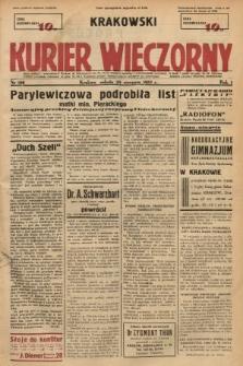 Krakowski Kurier Wieczorny. 1937, nr160