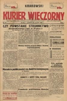 Krakowski Kurier Wieczorny. 1937, nr161