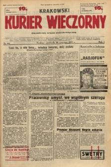 Krakowski Kurier Wieczorny : niezależny organ demokratyczny. 1937, nr182