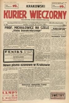 Krakowski Kurier Wieczorny : niezależny organ demokratyczny. 1937, nr186