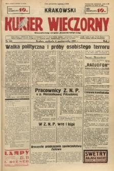 Krakowski Kurier Wieczorny : niezależny organ demokratyczny. 1937, nr196