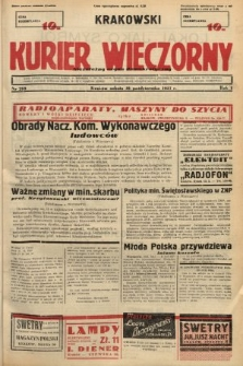 Krakowski Kurier Wieczorny : niezależny organ demokratyczny. 1937, nr209