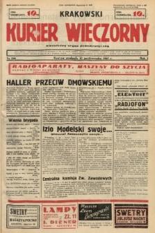 Krakowski Kurier Wieczorny : niezależny organ demokratyczny. 1937, nr210