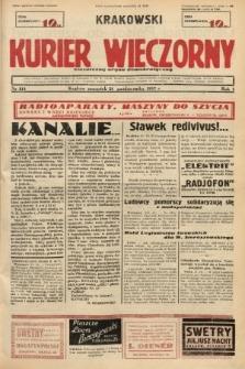 Krakowski Kurier Wieczorny : niezależny organ demokratyczny. 1937, nr214
