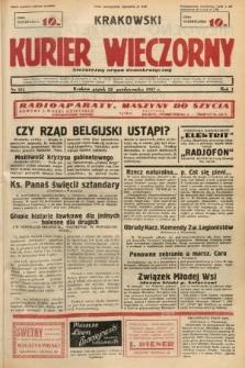 Krakowski Kurier Wieczorny : niezależny organ demokratyczny. 1937, nr215