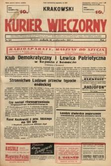 Krakowski Kurier Wieczorny : niezależny organ demokratyczny. 1937, nr217