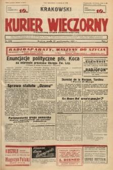 Krakowski Kurier Wieczorny : niezależny organ demokratyczny. 1937, nr220