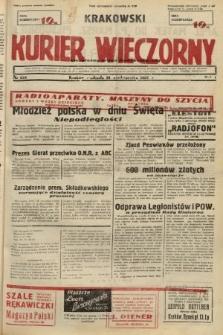 Krakowski Kurier Wieczorny : niezależny organ demokratyczny. 1937, nr224