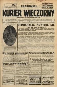 Krakowski Kurier Wieczorny : niezależny organ demokratyczny. 1937, nr234