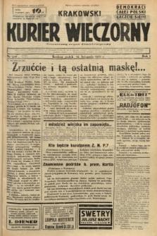 Krakowski Kurier Wieczorny : niezależny organ demokratyczny. 1937, nr235