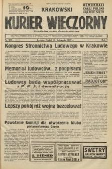 Krakowski Kurier Wieczorny : niezależny organ demokratyczny. 1937, nr242