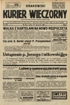 Krakowski Kurier Wieczorny : niezależny organ demokratyczny. 1937, nr243