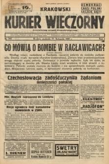 Krakowski Kurier Wieczorny : niezależny organ demokratyczny. 1937, nr244