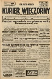 Krakowski Kurier Wieczorny : niezależny organ demokratyczny. 1937, nr245