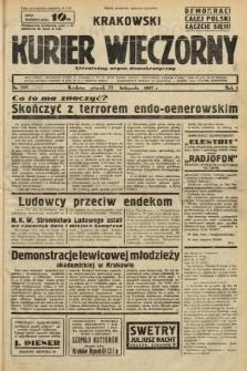 Krakowski Kurier Wieczorny : niezależny organ demokratyczny. 1937, nr246