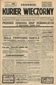 Krakowski Kurier Wieczorny : niezależny organ demokratyczny. 1937, nr248
