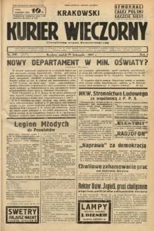 Krakowski Kurier Wieczorny : niezależny organ demokratyczny. 1937, nr249