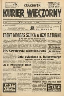 Krakowski Kurier Wieczorny : niezależny organ demokratyczny. 1937, nr250
