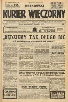 Krakowski Kurier Wieczorny : niezależny organ demokratyczny. 1937, nr252