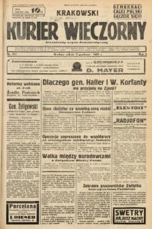 Krakowski Kurier Wieczorny : niezależny organ demokratyczny. 1937, nr257