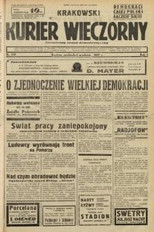 Krakowski Kurier Wieczorny : niezależny organ demokratyczny. 1937, nr258