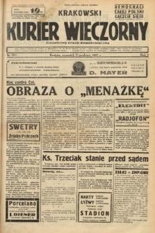 Krakowski Kurier Wieczorny : niezależny organ demokratyczny. 1937, nr262
