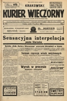 Krakowski Kurier Wieczorny : niezależny organ demokratyczny. 1937, nr263