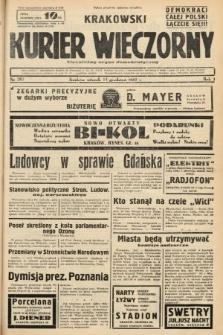 Krakowski Kurier Wieczorny : niezależny organ demokratyczny. 1937, nr267