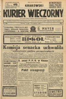 Krakowski Kurier Wieczorny : niezależny organ demokratyczny. 1937, nr268