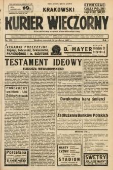 Krakowski Kurier Wieczorny : niezależny organ demokratyczny. 1937, nr269