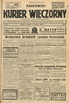 Krakowski Kurier Wieczorny : niezależny organ demokratyczny. 1937, nr273