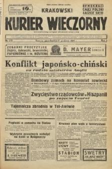Krakowski Kurier Wieczorny : niezależny organ demokratyczny. 1937, nr279