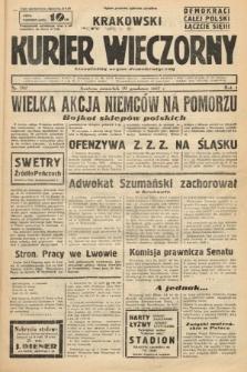 Krakowski Kurier Wieczorny : niezależny organ demokratyczny. 1937, nr282
