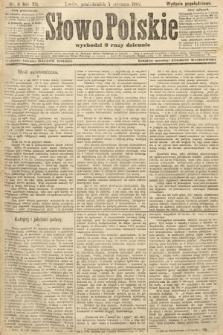 Słowo Polskie (wydanie popołudniowe). 1907, nr11