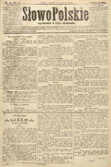 Słowo Polskie (wydanie poranne). 1907, nr12