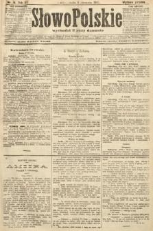 Słowo Polskie (wydanie poranne). 1907, nr14