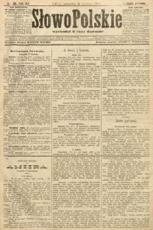 Słowo Polskie (wydanie poranne). 1907, nr28