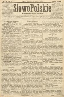Słowo Polskie (wydanie poranne). 1907, nr34