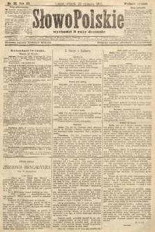 Słowo Polskie (wydanie poranne). 1907, nr36