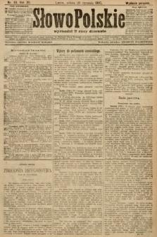 Słowo Polskie (wydanie poranne). 1907, nr44