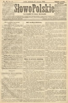 Słowo Polskie (wydanie poranne). 1907, nr46